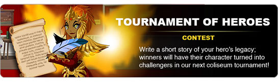 Tournament of Heroes Contest
