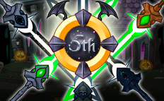 5th Upholder badge and star swords