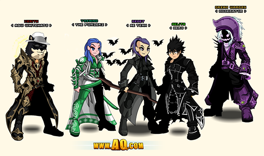 how to use two account aqw