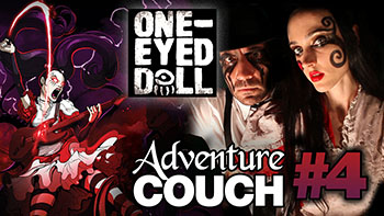 AdventureCouch #4 featuring One-Eyed Doll