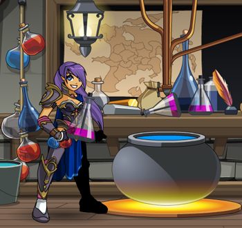 Alina and her potions