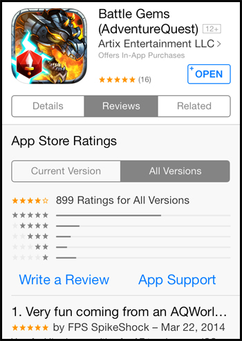 Battle Gems new RPG mobile game all versions iOS