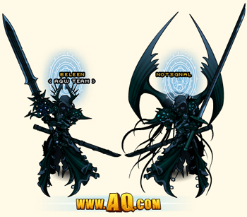 Dage the Evil's Oathkeeper Armor Set