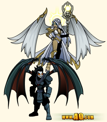 Nulgath fantasy games armor set