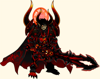 Fallen Warlord Armor Set by Dage the Evil