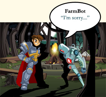 Farmbot says I'm sorry....
