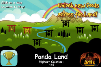 fat panda levels