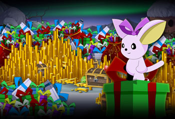 Free gifts this holiday season Tinsel in Battleon