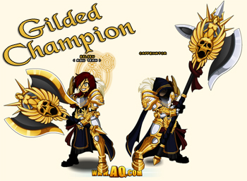 Gilded Champion in kids games online