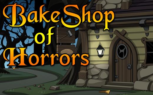 Halloween bake shop in online adventure game