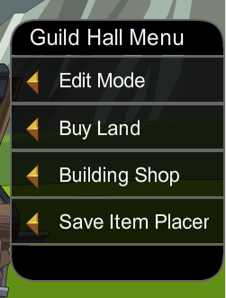 Guild Hall Menu
