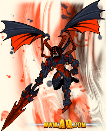 Archfiend takes flight