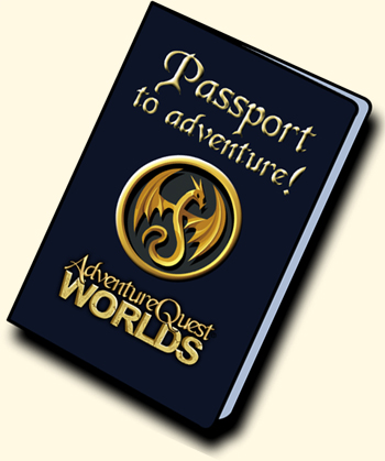 Passport to free to play online games AdventureQuest Worlds