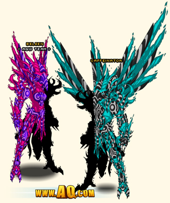 Color custom Solar Protector Armor in flash game AdventureQuest Worlds