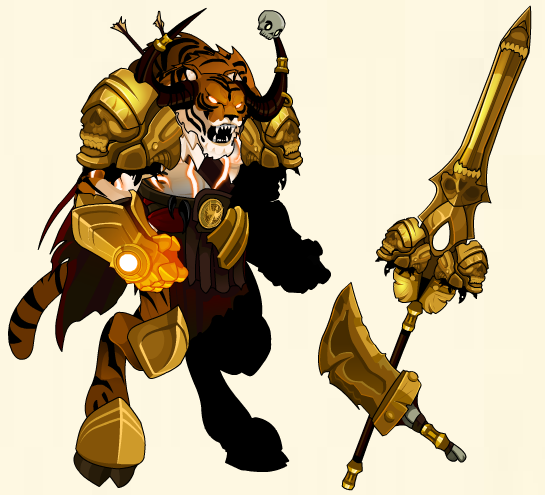 fire tiger rare gear free rpg mmo