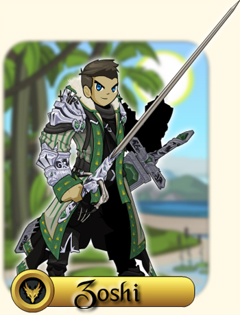 Zoshi the Monster Hunter featured artist in online game