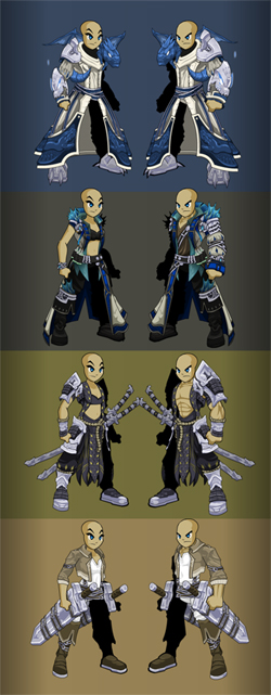 Zoshi Monster Hunting Armors