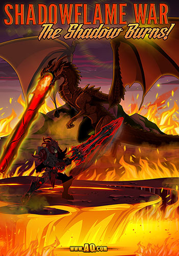 aqworlds shadowflame dragon war free rpg mmo
