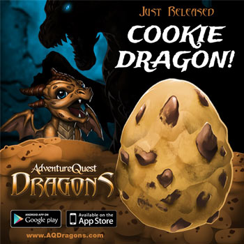 cookie clicker dragon in mobile game app adventure quest dragons idle game