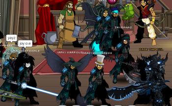 Dark Casters unite