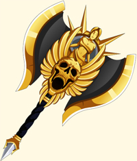 Champion Gilded Axe in online fun games