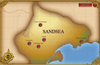 Sandsea map