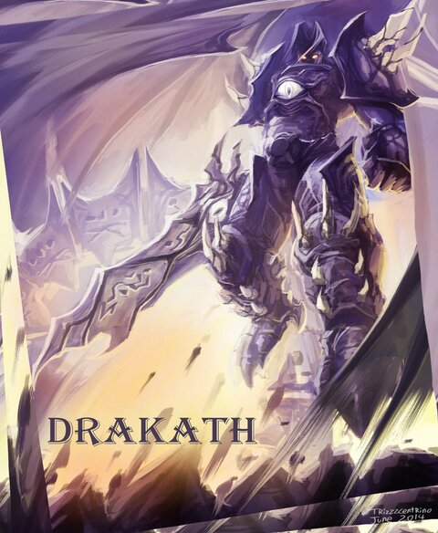 Drakath fan art winner