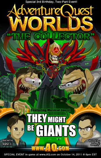 AQW They Might Be Giants Event!