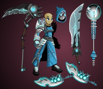Techno Mage Armor Set