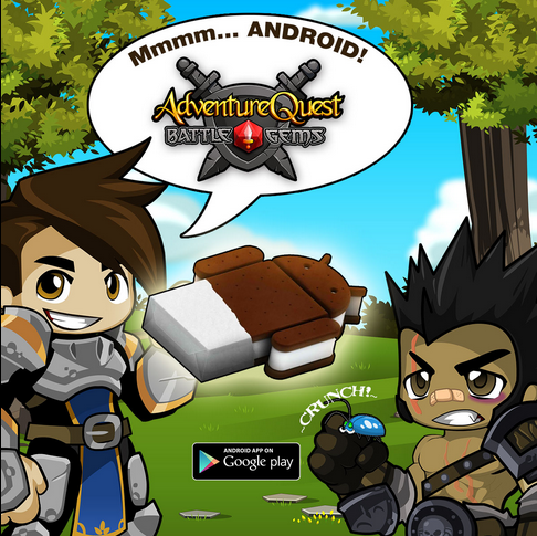 BG= Design Notes April 29, 2014: Battle Gems released for Android