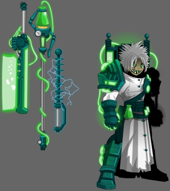 Mad Scientist Armor