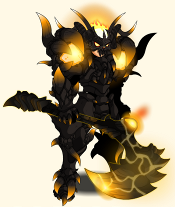 =Aqw= Noxus drops, armor, cape, and helm.