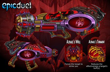 Azrael Weapons