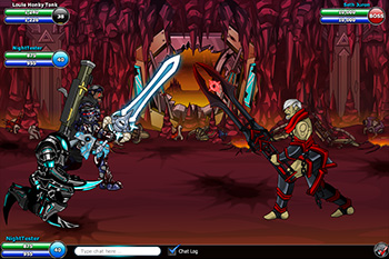EpicDuel-PvP-Browser-MMO-Seth-Juran-Artist-Showcase-battle-mode