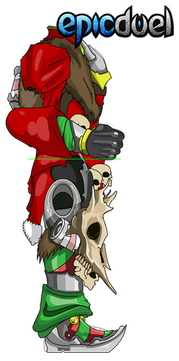 EpicDuel-PvP-Browser-MMO-deuce-winter-santa-armor