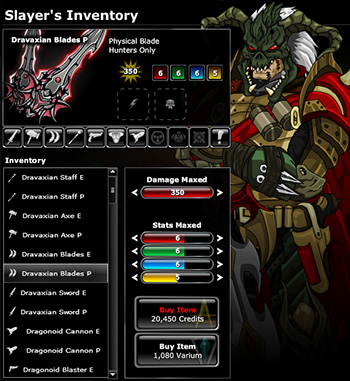 EpicDuel_Browser_PVP_MMO_Dragonoid_Weapons_Shop_DN