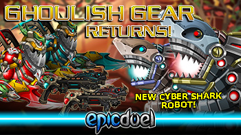Ghoulish Gear and Sharks oh my!