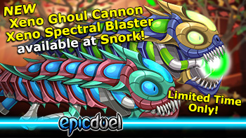 Xeno Ghoul and Spectral Bazookas