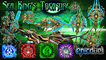 Sea King's Treasure Promo Pack