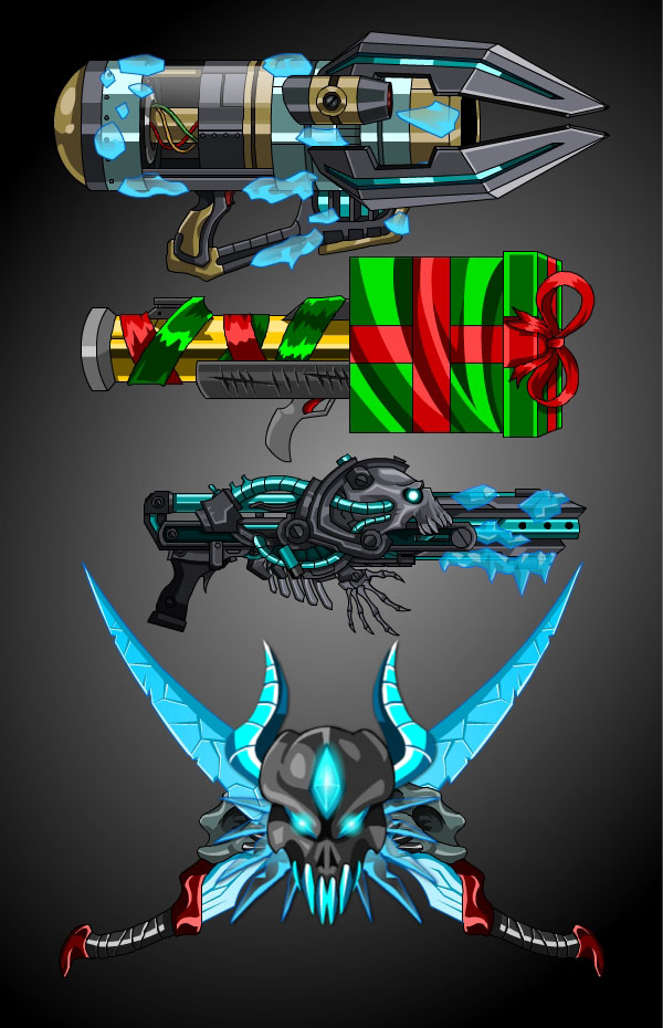 Holiday Weapons!