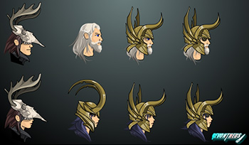 More Asgardian Styles