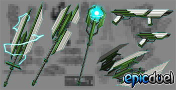 Charfade Weapons