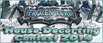 EpicDuel house decorating contest banner