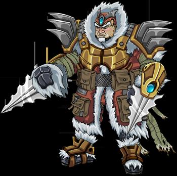 Krampus Warrior